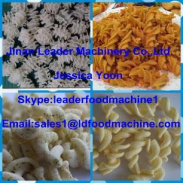 CE ISO9001 Automatic Screw/shell/chips frying food extrusion machine