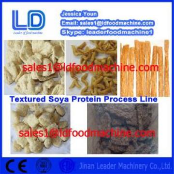 China Manufacturer Automatic Vegetarian Soya Meat Processing line