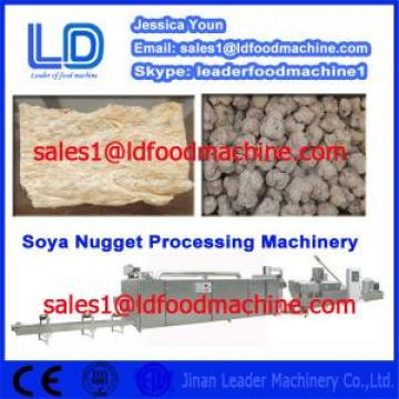 Best Automatic Vegetarian Soya Meat Prcessing Equipment made in China