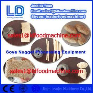 Textured Vegetarian Soya food machinery