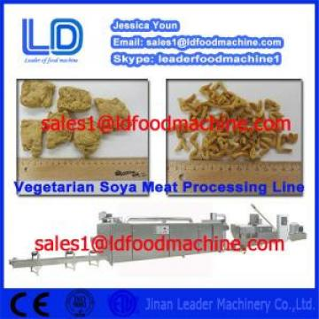 Big capacity Automatic Soya Nugget Food Prcessing line made in China