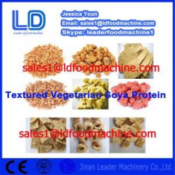 CE ISO9001 Automatic Vegetarian Soya Meat Prcessing Equipment made in China