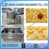 Stainless steel fry potato chips automatic gas fryer machine