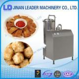 Industrial potato chips puffed food deep fryer frying machine