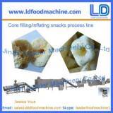 High Quality Core filled/inflating snacks food process line