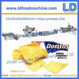 Doritos/tortilla snacks making machine, corn chips processing line
