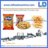 Kurkure /Cheetos /Niknak processing line,snacks food machinery