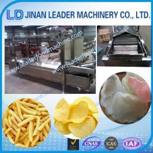 Stainless steelpuffed food pellets fryer food processing machineries #1 image