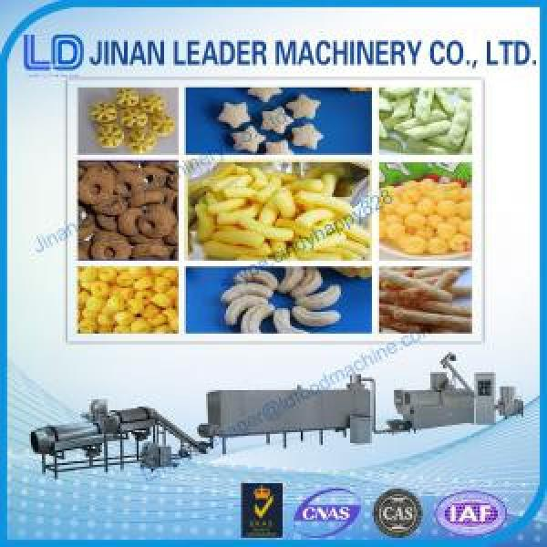 Puffed snack food processing machine twin screw extruder price #1 image