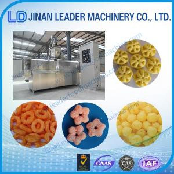 100-150kg/h  stainless steel Puffed snack food processing machine #1 image