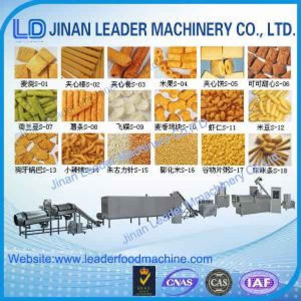 Puffed snack food processing machine corn puff extruder puffs making #1 image