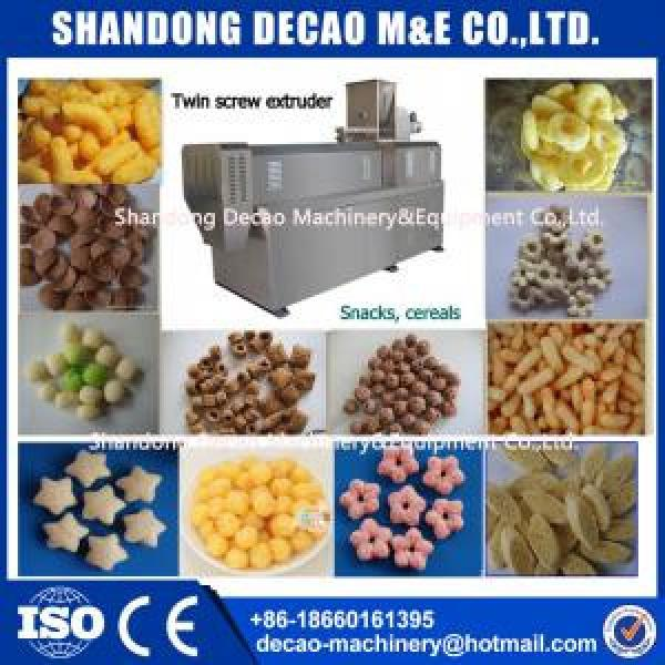 ss304 stainless steel puffy snacks food processing line manufacturer #1 image