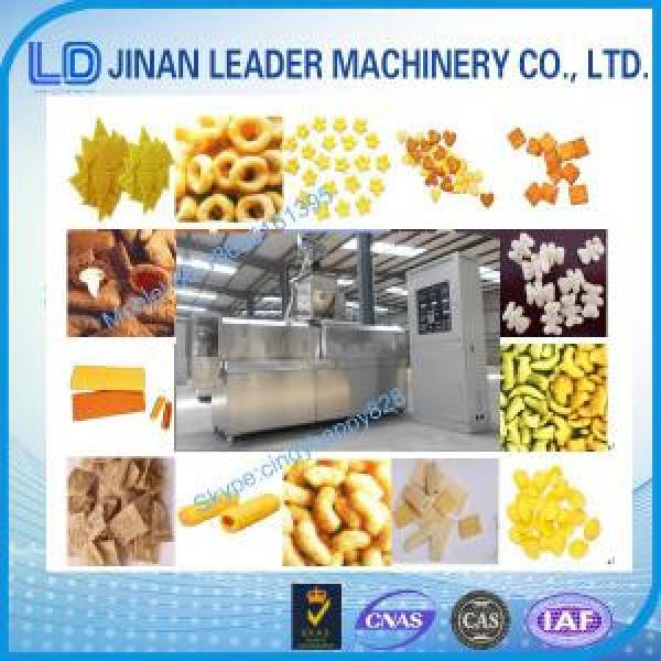Chocolate Core Filling Puffed Corn Flour Snack Machine processing machines #1 image