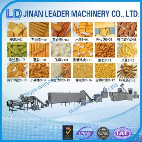 Puffed snack food processing machine extruder making machine factory price #1 image