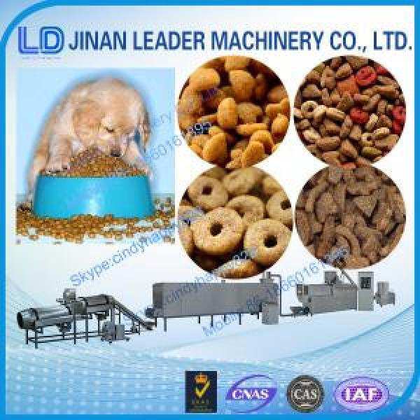 Commercial pet food processing double screw extruder equipment #1 image
