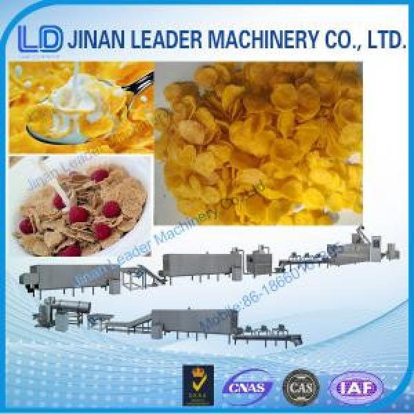 Easy operation corn flakes twin screw extruder processing line #1 image