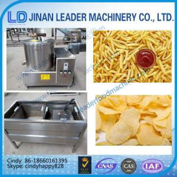 Small scale potato chips making machine french fries machine Continuous Deep Fryer #1 image
