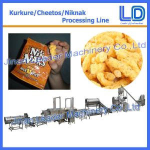Automatic kurkure chips making process machine plant price #1 image