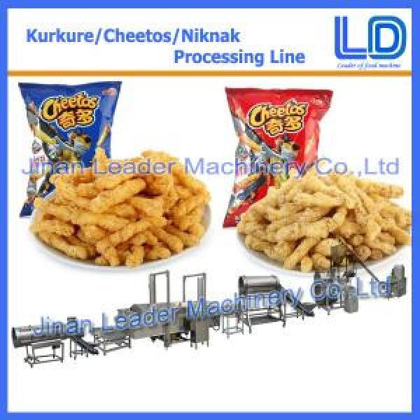 commercial Kurkure Snack Production Line cheetos cheese balls equipment #1 image