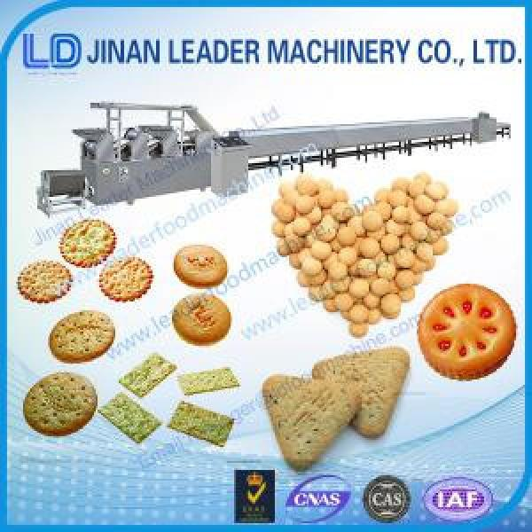 Industrial  stainless steel soft hard cookie biscuit production line #1 image