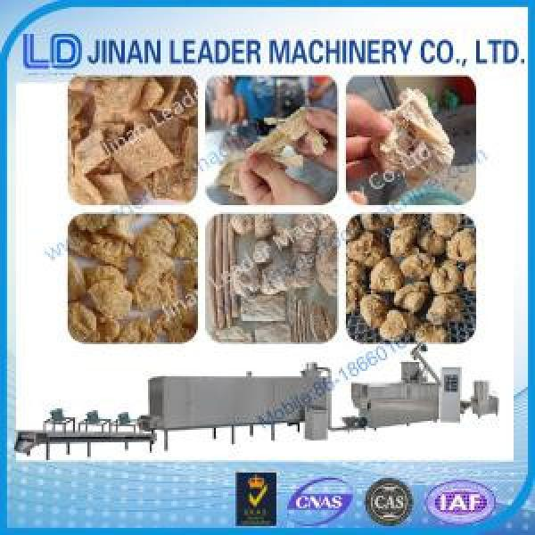 Small soya nugget and textured soya protein food processing equipments #1 image