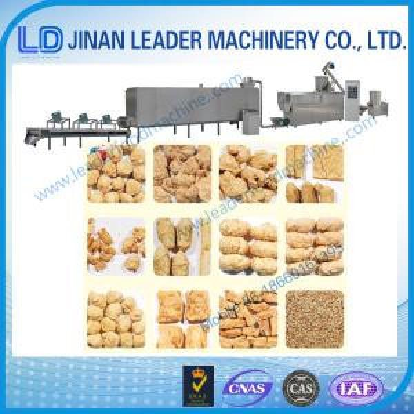 Automatic textured soya protein snack food processor machinery #1 image