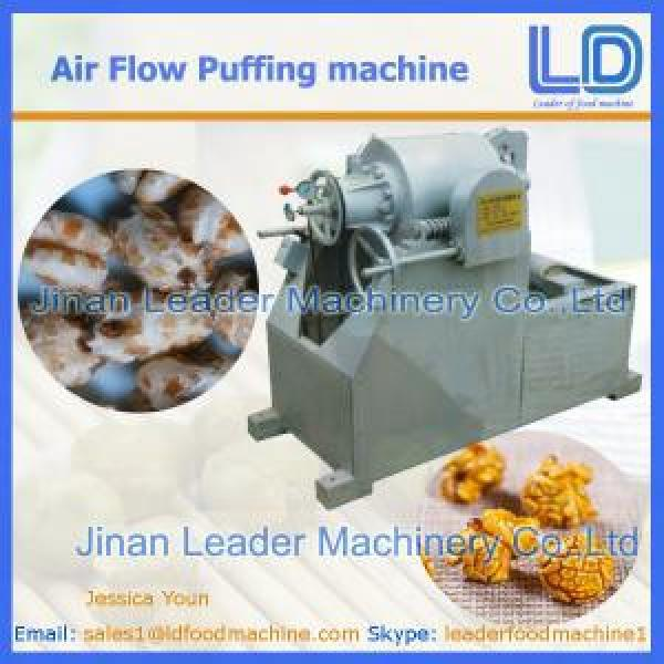 Automatic Air Flow Puffing Machine price #1 image