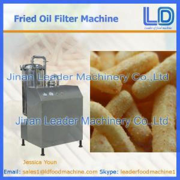 ISO Automatic Fried Oil Filter Machine #1 image