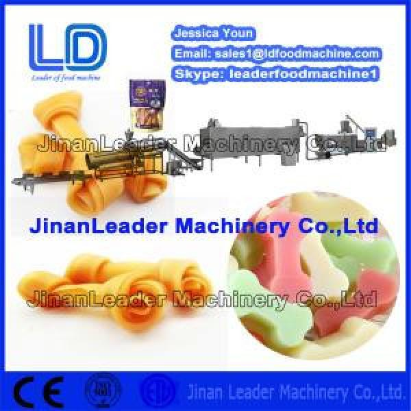 Chewing/jam center pet treats assembly line,dog food processing line #1 image
