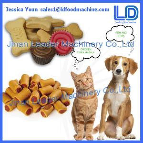 Chewing/jam center cat,dog treats making machines,Animal food processing line #1 image