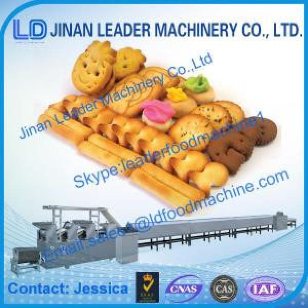 Full Automatic Biscuit Process Line All kinds of shapes biscuit #1 image