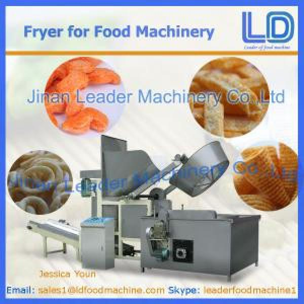 Automatic Fryer machinery for snacks food #1 image
