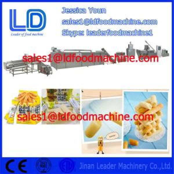 Core filled/inflating snacks food process line for sale #1 image