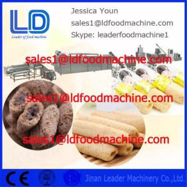 Big capacity Core Filled/Inflating Snacks Food Processing line #1 image