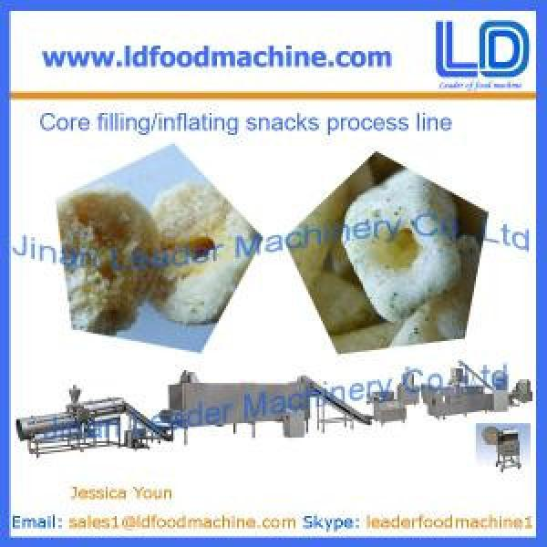 High Quality Core filled/inflating snacks food process line #1 image