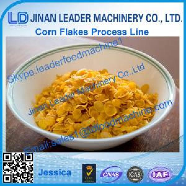 high quality corn flakes food production line #1 image
