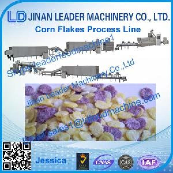 Corn flakes process line, high wholesale corns flake makeing equipment #1 image
