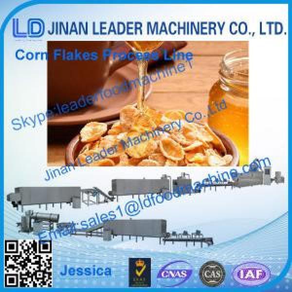 Corn flakes process line,2014 hot sale corn flakes extruder line #1 image