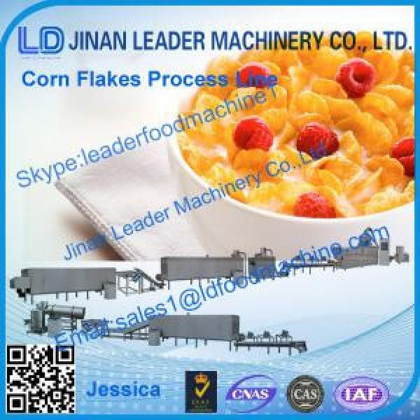 Corn flakes process line,2014 hot sale cereal corn flakes production line #1 image