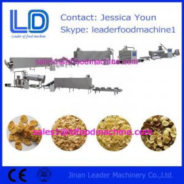 Corn flakes production line,breakfast cerealsmaking machines #1 image
