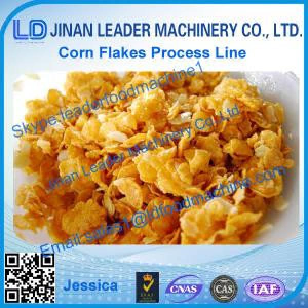 Corn flakes processing line,2015 hot sale corn flakes extrusion #1 image