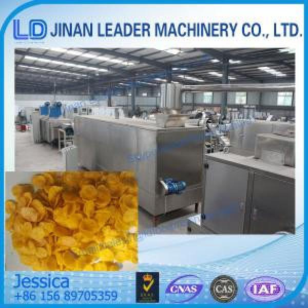 In Store Breakfast cereals making machine,Corn flakes food processing machinery #1 image