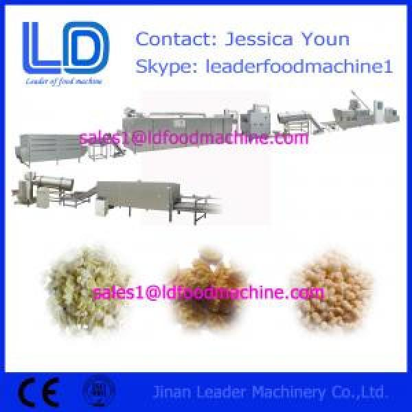 Corn flakes processing line,breakfast cereals making machinery #1 image