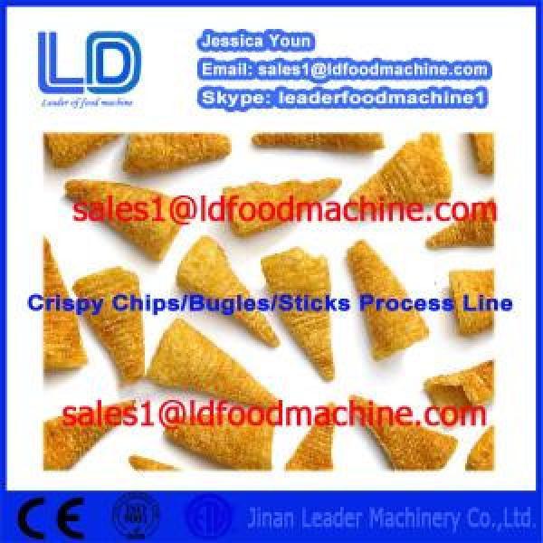 China Crispy chips processing equipment,salad/bugles processing line #1 image
