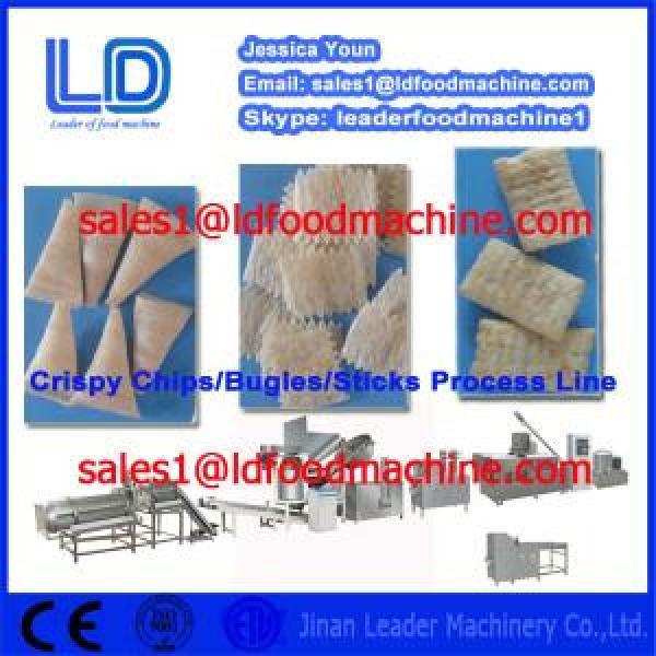 CE ISO Crispy chips /salad/bugles /sticks making machinery #1 image