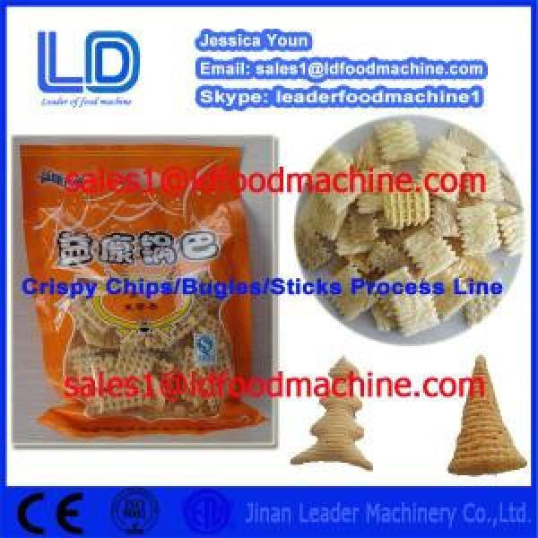 High Quality Crispy chips processing equipment,salad/bugles processing Equipment #1 image