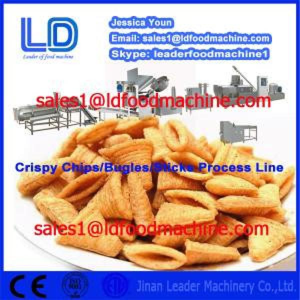 Hot sale Automatic Crispy chips processing line,salad/bugles making machinery #1 image