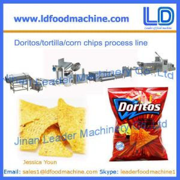 Corn chips processing line,Doritos/tortilla snacks food making machinery Supplier #1 image