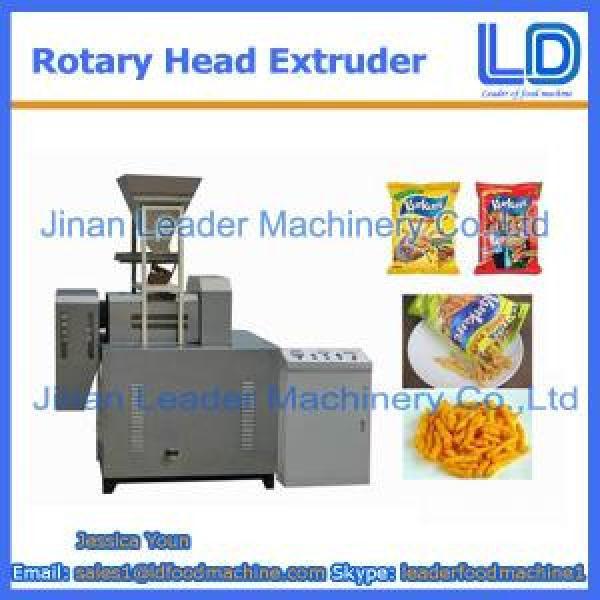 High quality Rotary head extruder for Niknak, cheetos, kurkure #1 image