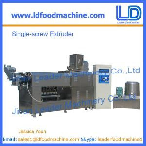 Single Screw Extruder,snacks food extrusion #1 image